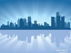 Detroit, Michigan Skyline by Yurkaimmortal