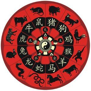 Chinese Zodiac Wheel by Yurumi