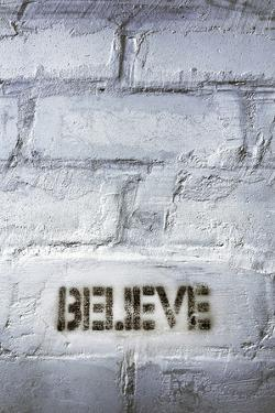 Believe Word by Yury Zap