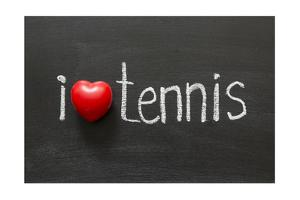 Love Tennis by Yury Zap