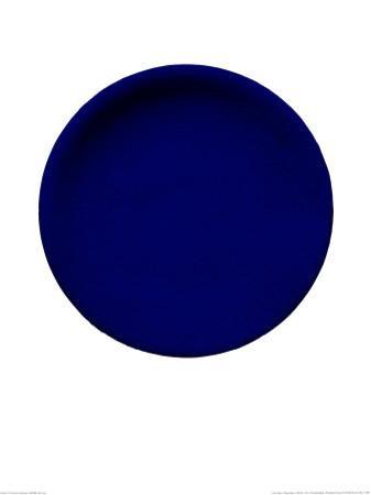 Blue Disk, c.1957 (IKB54)