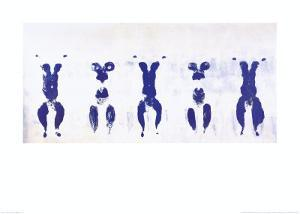 Untitled, Anthropometry, c.1960 (ANT100) by Yves Klein