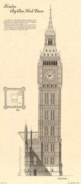 Big Ben Clock Tower by Yves Poinsot