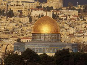 Dome of the Rock, Jerusalem, Israel by Yvette Cardozo