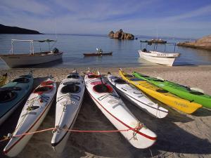 Sea Kayaking, Sea of Cortez, Baja CA, Mexico by Yvette Cardozo