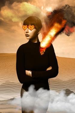Heart on Fire by Yvonne Coleman Burney
