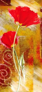 Two Tulips by Yvonne Dulac