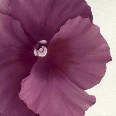 Violet Flower II by Yvonne Poelstra-Holzhaus