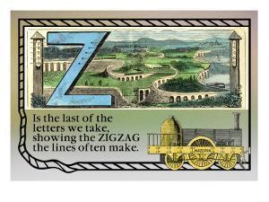 Z for Zigzag