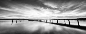 Sunset At Long Pier by Z. Ivanova