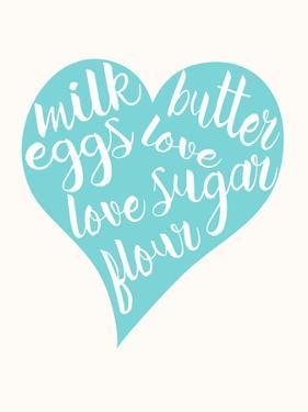 Love, Sugar, Milk Eggs by Z Studio