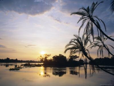 Zambezi River, Zimbabwe, Africa by I Vanderharst