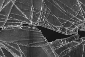 Shattered glass abstract by Zandria Muench Beraldo