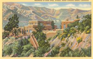 Zane Grey Residence, Catalina, California