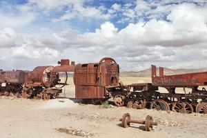 Train Cemetery, Uyuni, Bolivia by zanskar