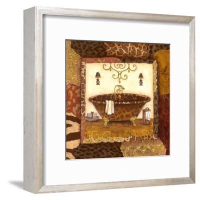 Zanzibar Bath I--Framed Art Print