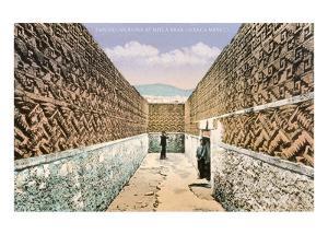 Zapotec-Mixtec Ruins in Mitla, Oaxaca, Mexico