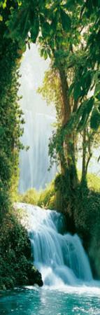 Zaragoza Falls (Waterfall) Art Poster Print