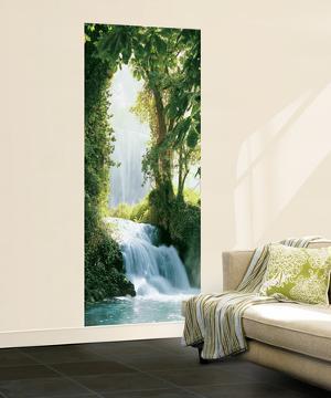 Zaragoza Falls Waterfall Mural
