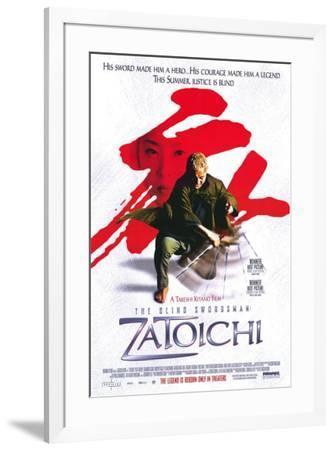 Zatoichi--Framed Poster
