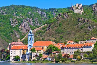 Durnstein on the River Danube (Wachau Valley), Austria