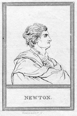 Sir Isaac Newton, English Mathematician, Astronomer and Physicist by Zeelander Zeelander