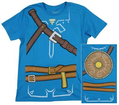 Zelda: Breath of the Wild - Costume T-Shirt
