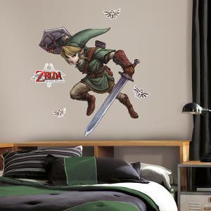 Zelda: Twilight Princess Peel And Stick Giant Wall Decals