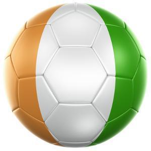 Ivoran Coast Soccer Ball by zentilia
