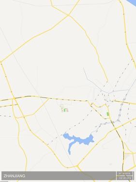 Zhanjiang, China Map