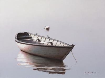 Lonely Boat 2017 2 by Zhen-Huan Lu