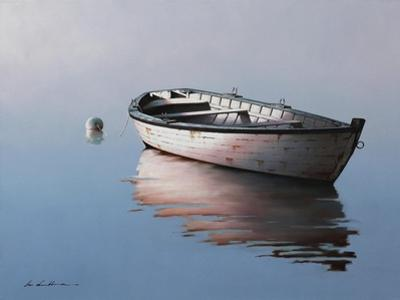 Lonely Boat 2017 by Zhen-Huan Lu
