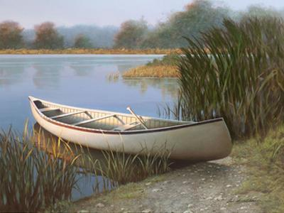 On the Lake by Zhen-Huan Lu