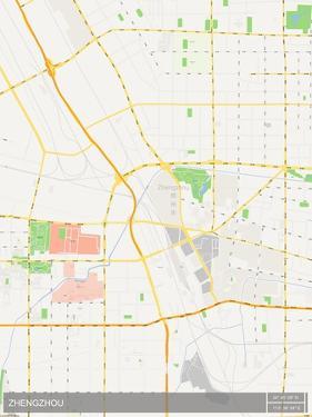 Zhengzhou, China Map