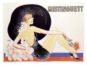 Mistinguett by Zig (Louis Gaudin)