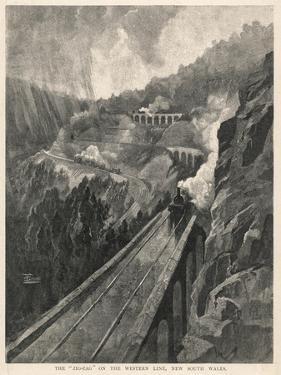 Zig-Zag Railway in Australia
