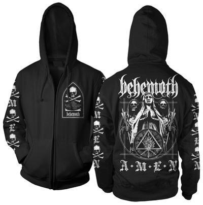 Zip Hoodie: Behemoth - Behemoth Amen