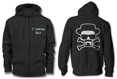 Zip Hoodie: Breaking Bad - Heisenberg and Crossbones