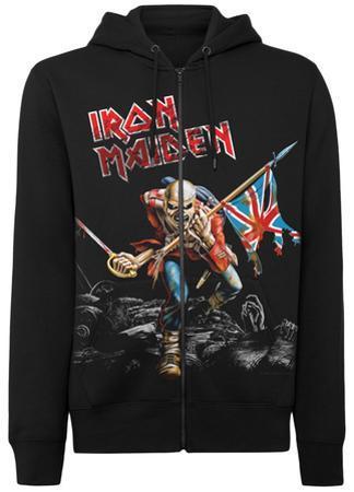 Zip Hoodie: Iron Maiden- The Trooper