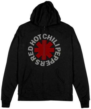 Zip Hoodie: Red Hot Chili Peppers- Asterisk