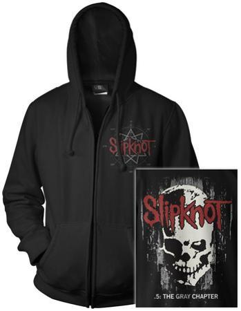 Zip Hoodie: Slipknot- Skull Back (Front/Back)