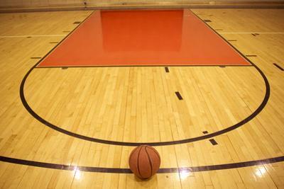 A Basketball in Field by zmu