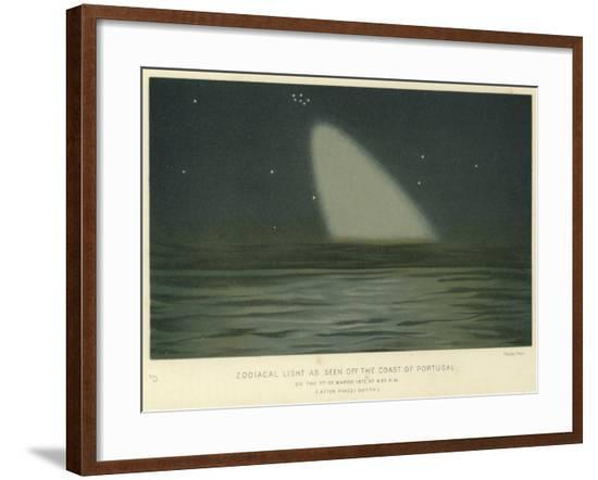 Zodiacal Light as Seen Off the Coast of Portugal--Framed Giclee Print