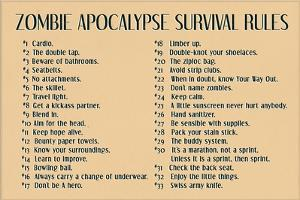 Zombie Apocalypse Rules Movie