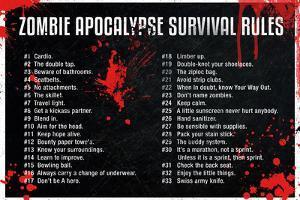 Zombie Apocalypse Survival Rules Movie