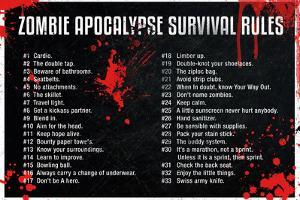Zombie Apocalypse Survival Rules Movie