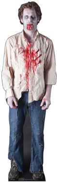Zombie Guy Lifesize Cardboard Cutout