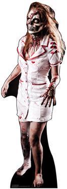 Zombie Nurse Lifesize Cardboard Cutout