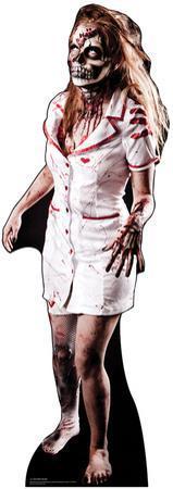 Zombie Nurse Lifesize Standup
