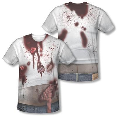 Zombie Slob Costume Tee (Front/Back Print)